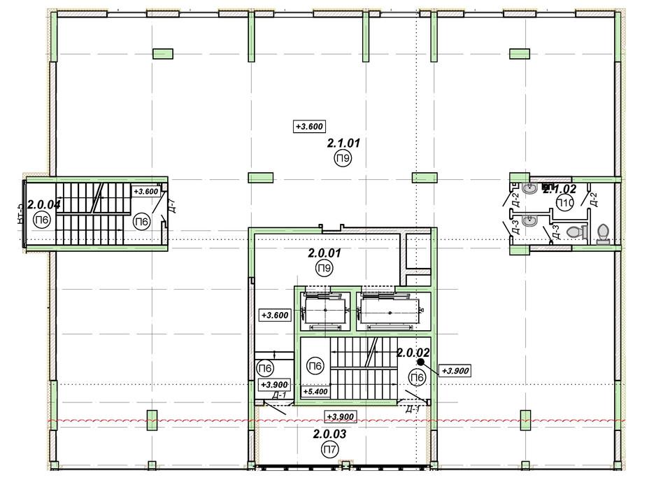 Планировка помещения в ЖК Национальный 310 м², фото 226569