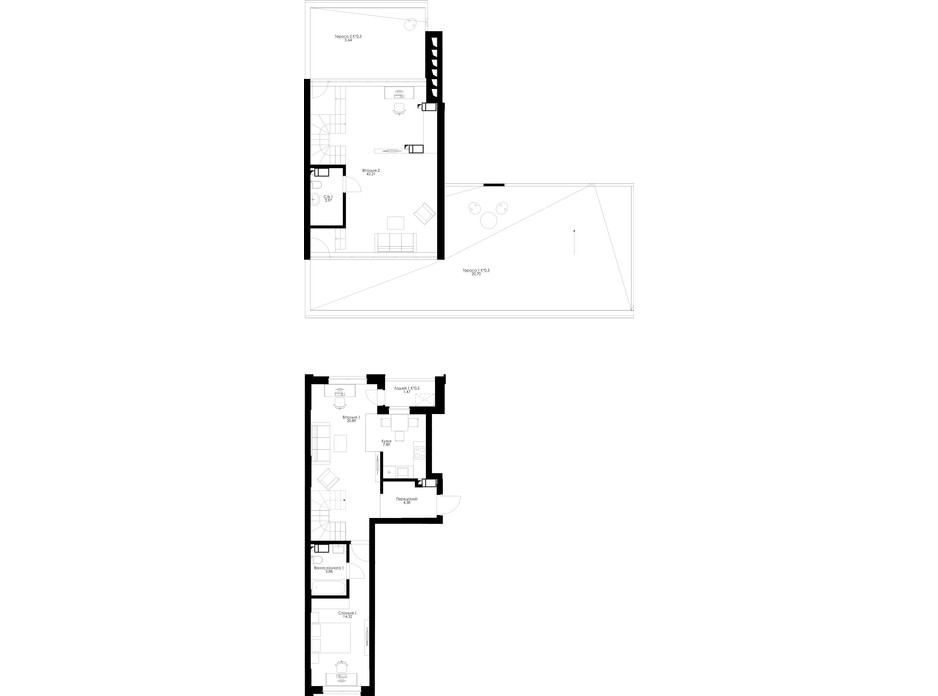 Планировка помещения в ЖК San Francisco Creative House 123.2 м², фото 230608