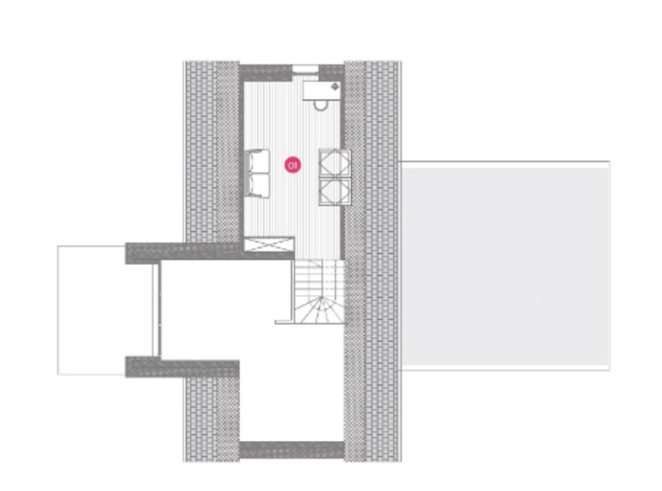 Планировка коттеджа в КГ Mulberry Homes 131 м², фото 234042