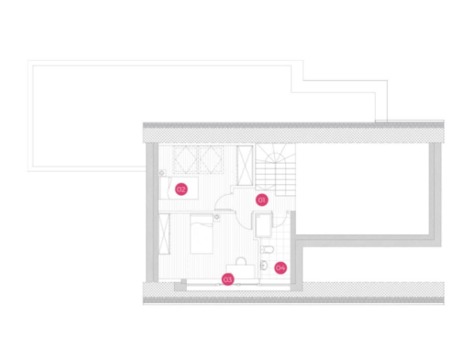 Планировка коттеджа в КГ Mulberry Homes 175 м², фото 234049