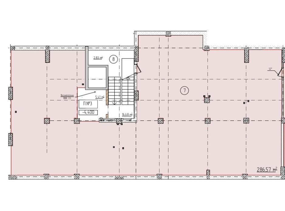 Планировка помещения в ЖК Олимп 286.57 м², фото 258181