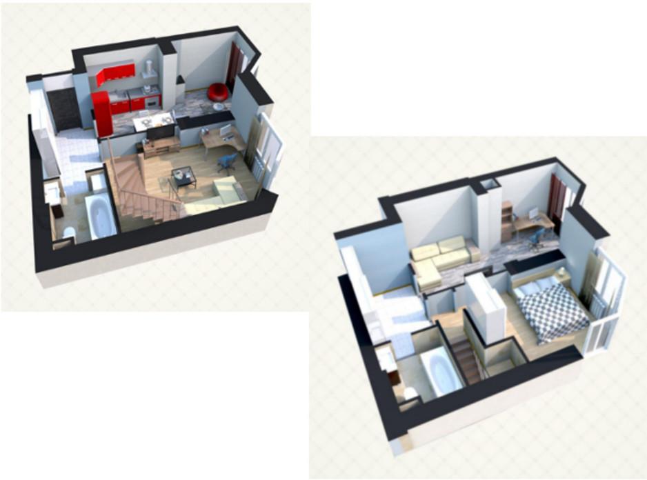 ЖК Sofia Residence планировка 11