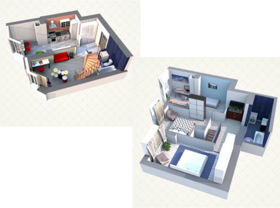 ЖК Sofia Residence планировка 13