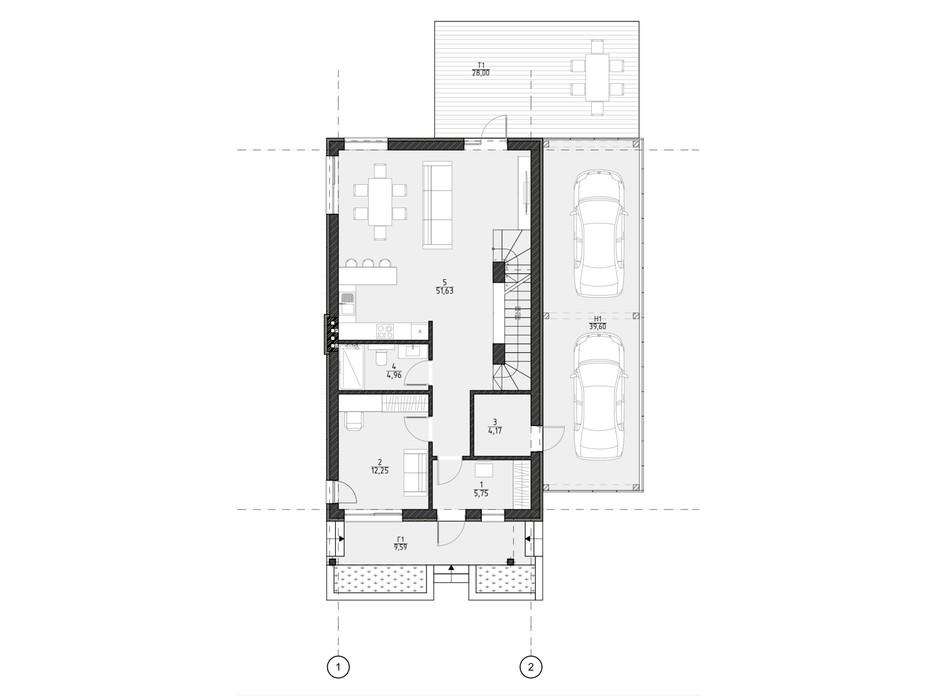 Планування котеджу в КМ Жуляни 237 м², фото 303178