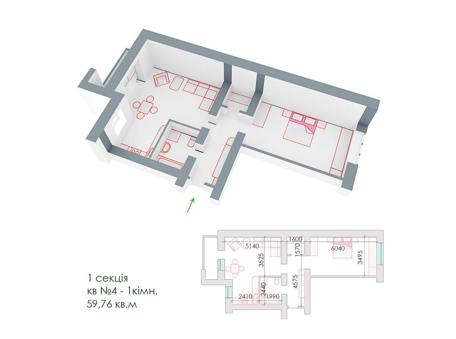 ЖД Липинский планировка 6