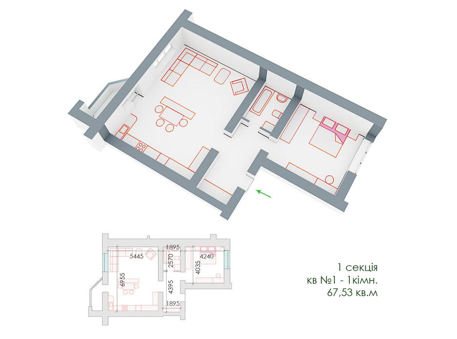 ЖД Липинский планировка 8