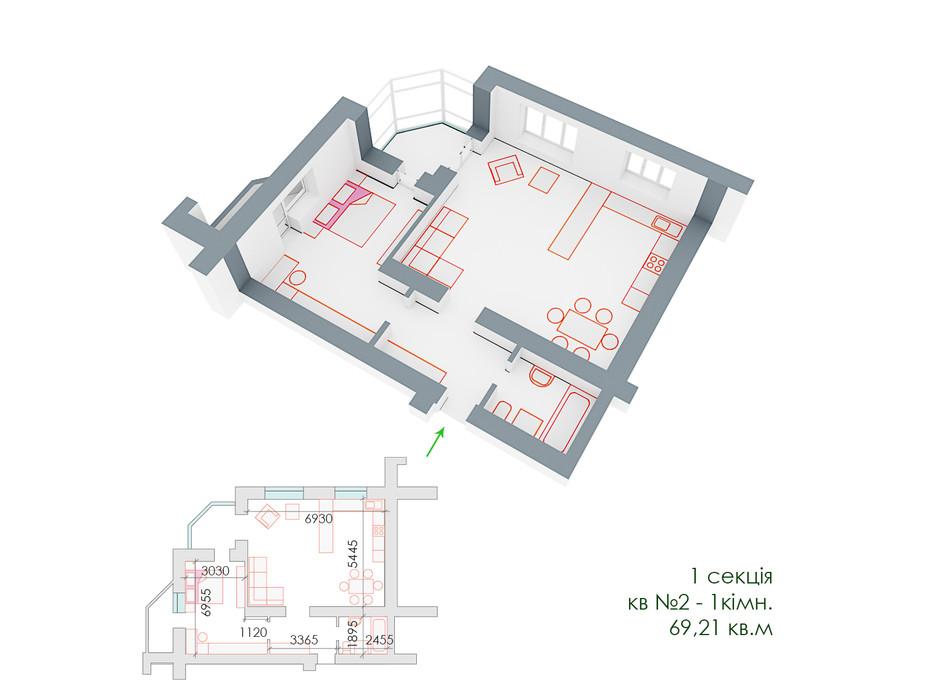 ЖД Липинский планировка 9