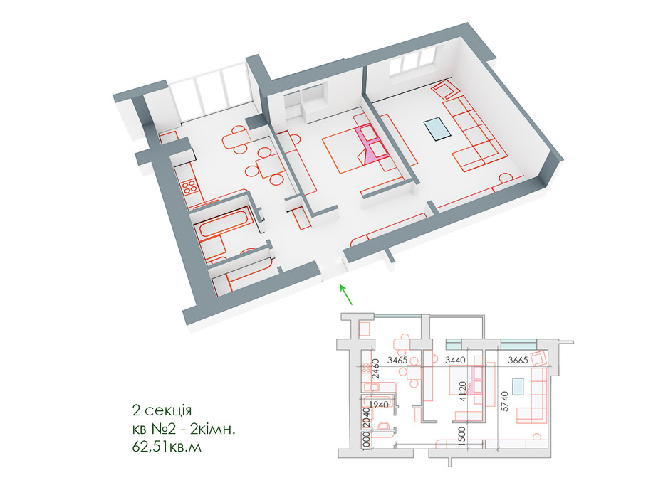 ЖД Липинский планировка 11