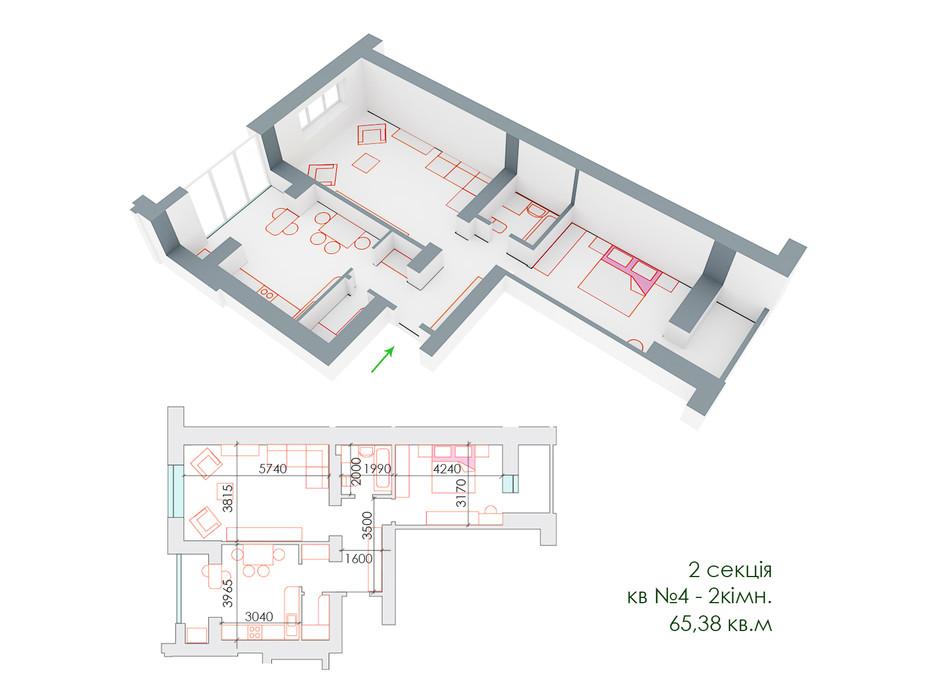 ЖД Липинский планировка 12