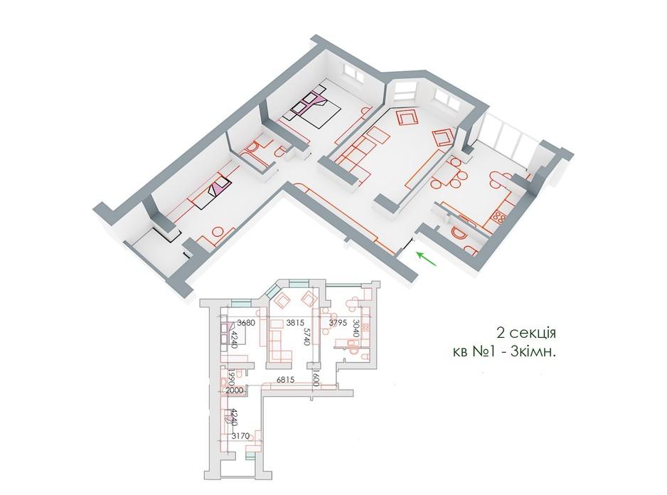 ЖД Липинский планировка 13