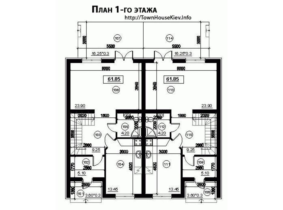 КГ Лісове-3 планировка 5