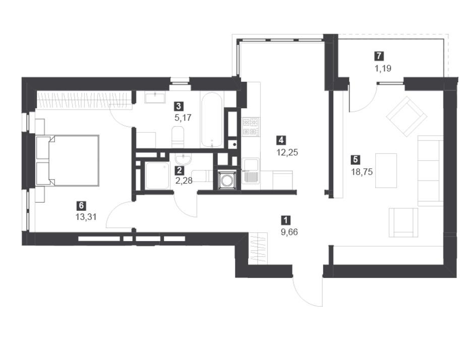 Панорамний будинок з терасами планування 15