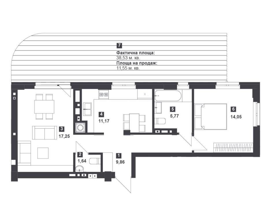 Панорамний будинок з терасами планування 20