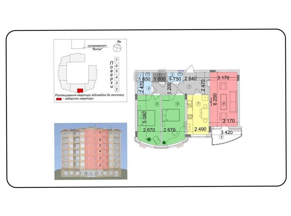 ЖК Сакура планировка 13