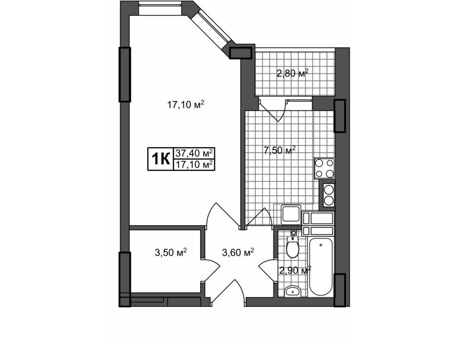 ЖК Прованс Хаус планування 8
