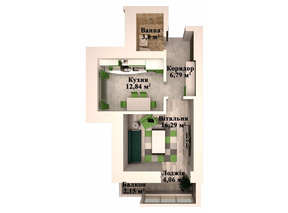 ЖК Caramel Residence планування 12