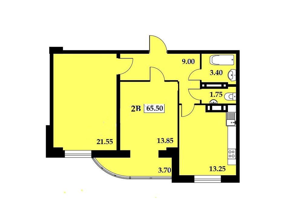 ЖК Янтарный планировка 11