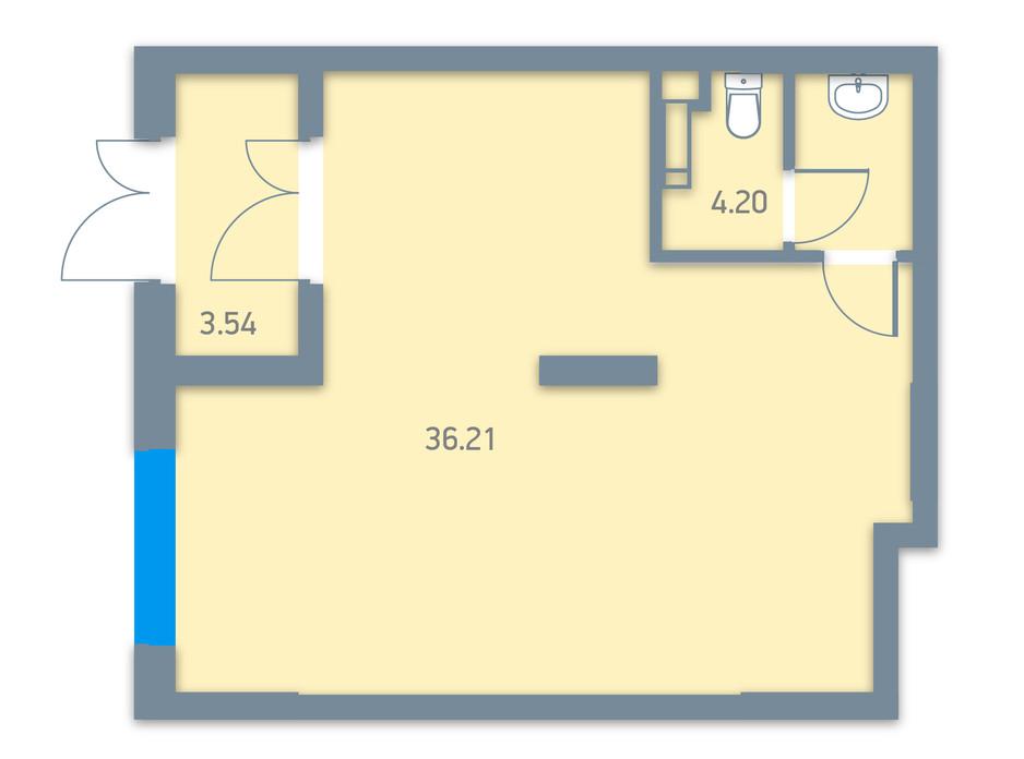 ЖК Urban Park планировка 31