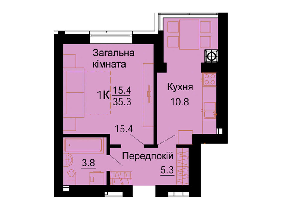 ЖК Львівський Маєток планування 66