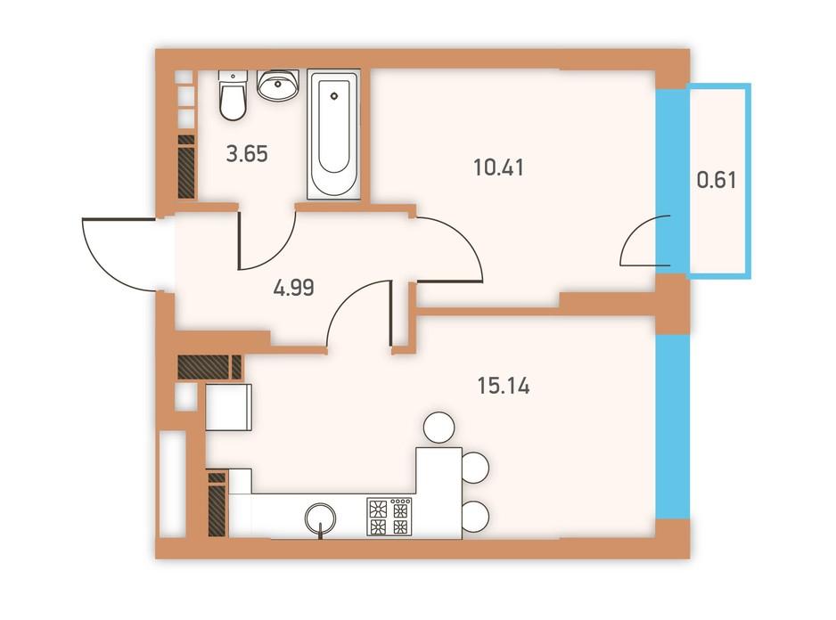 ЖК Twin House планировка 22