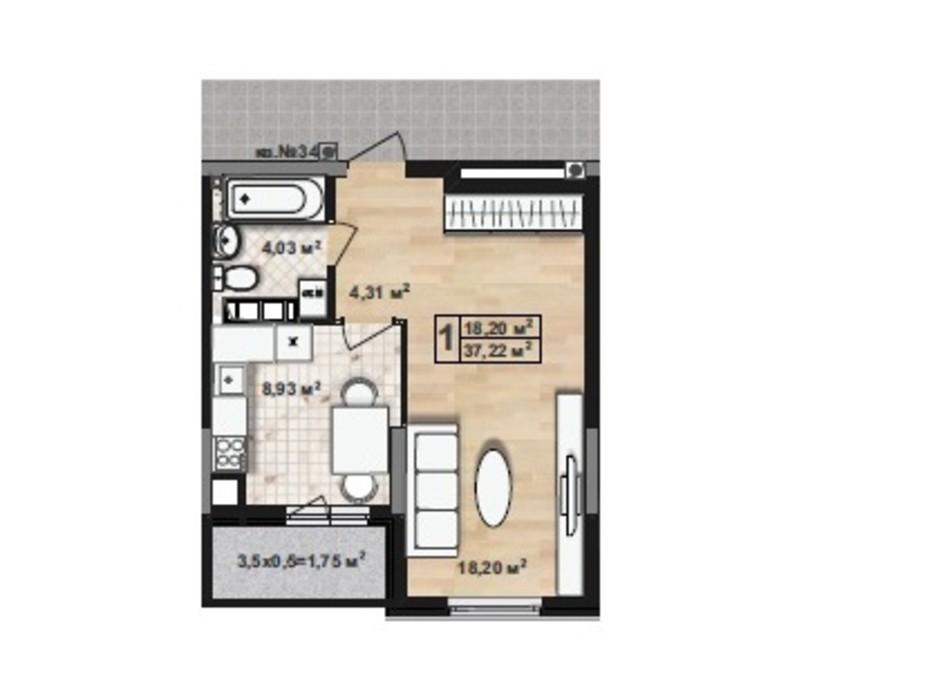 ЖК Green House планування 11