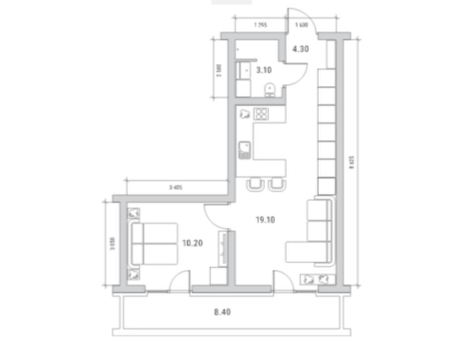 ЖК Standard One планування 10