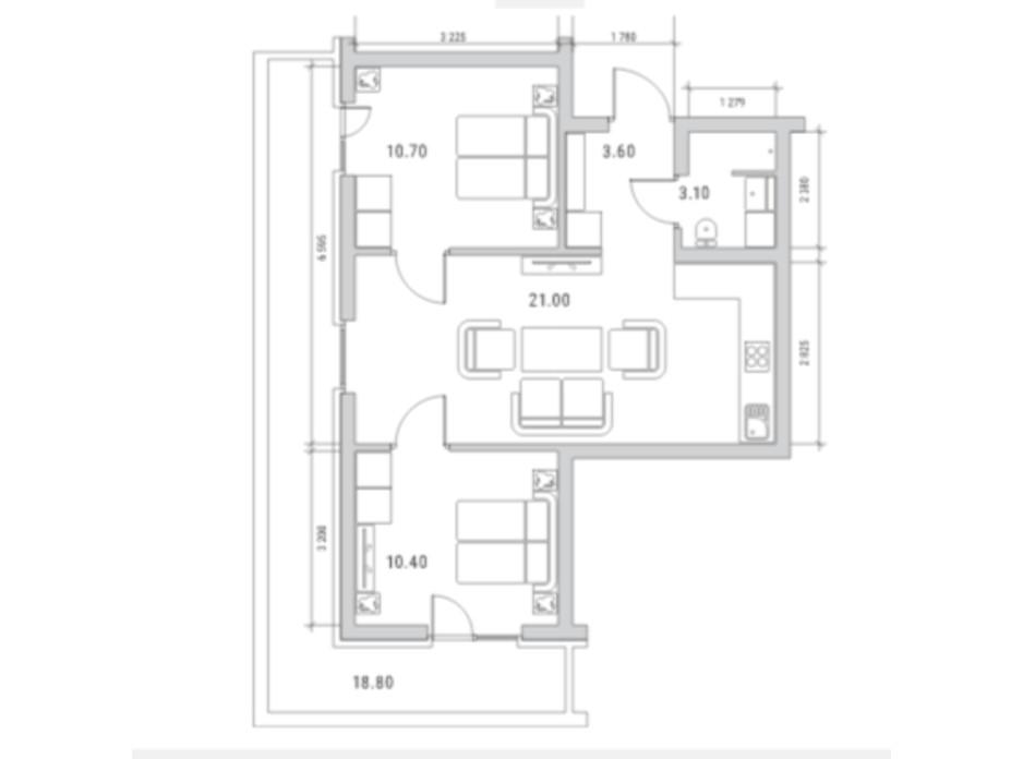 ЖК Standard One планування 11