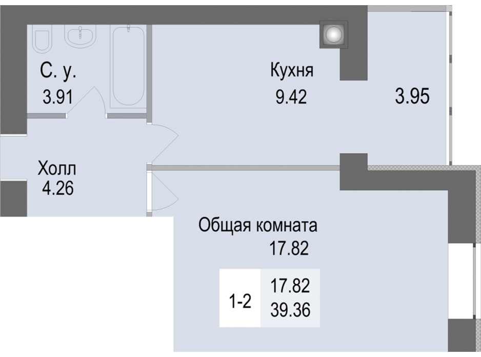 ЖК Софиевская сфера планировка 4