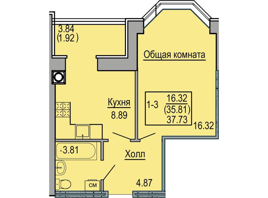 ЖК Софиевская сфера планировка 7