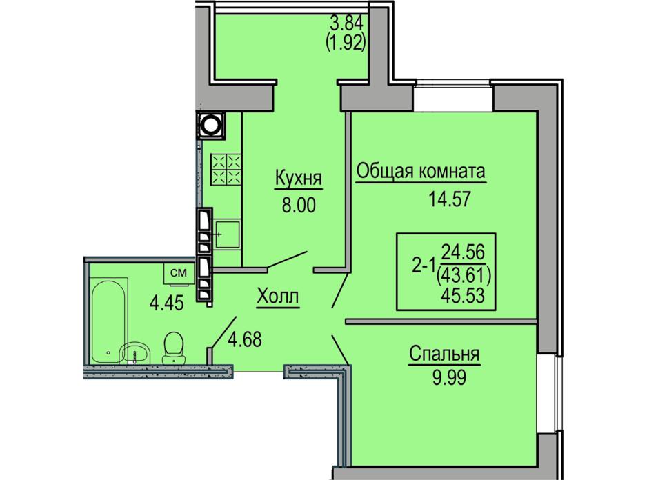 ЖК Софиевская сфера планировка 12