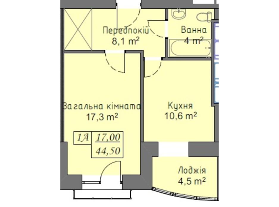 ЖК Намистинка планування 7