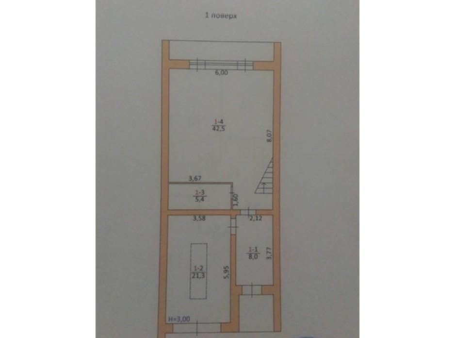 Планировка коттеджа в КГ Солнечная долина 174.3 м², фото 61376