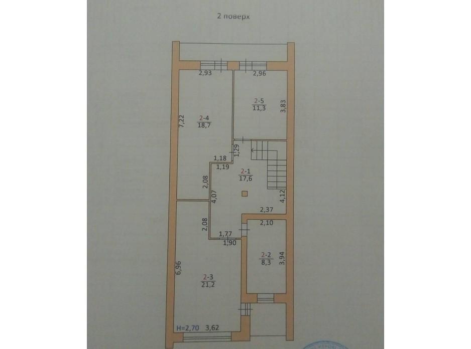 Планировка коттеджа в КГ Солнечная долина 174.3 м², фото 61377