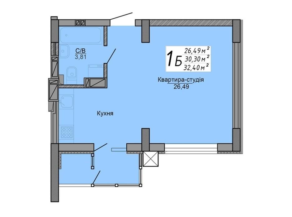 ЖК Версаль парк планировка 12
