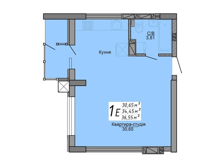 ЖК Версаль парк планировка 15