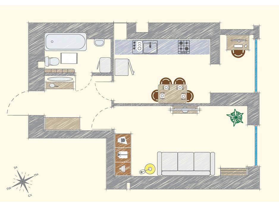 ЖК Модуль планировка 9