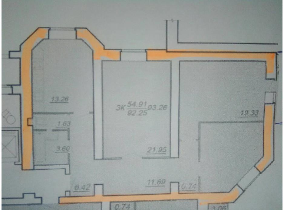 ЖК Яремы 12 планировка 4