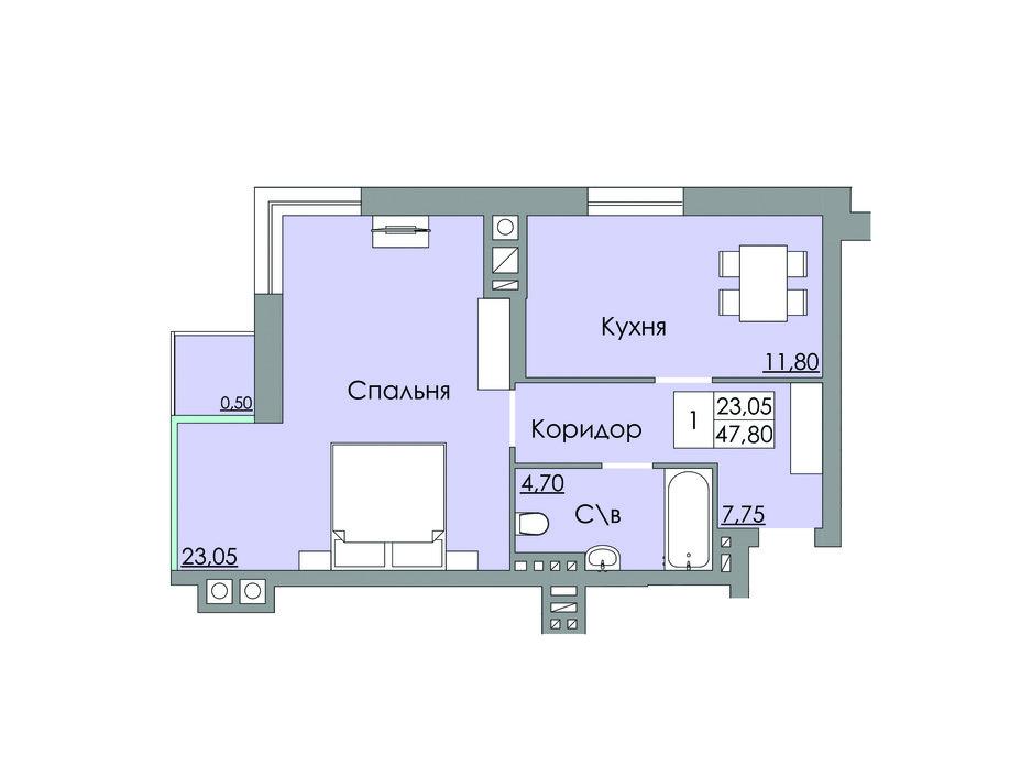 ЖК Панда планировка 5