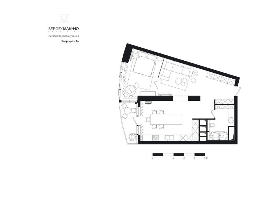 ЖК Skyline Residences планировка 19
