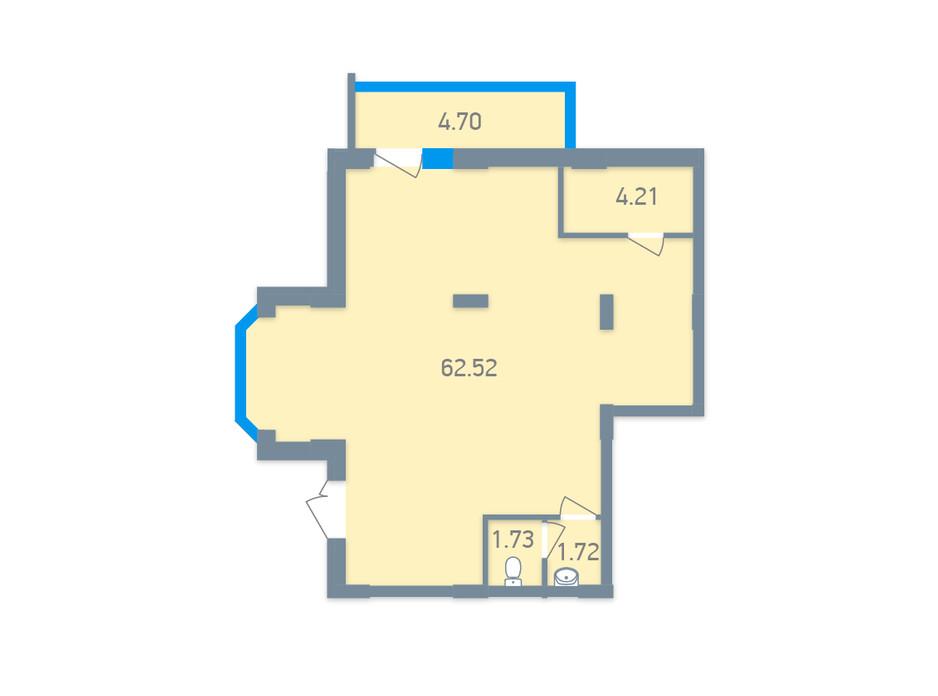 ЖК Чарівне Місто планування 135