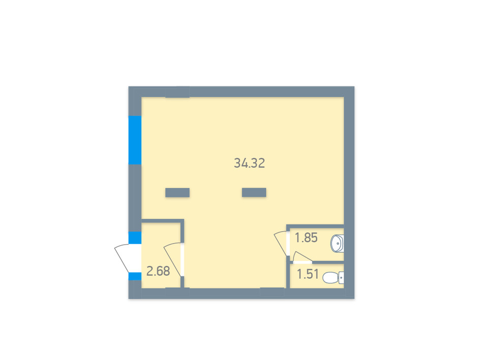 ЖК Чарівне Місто планування 142