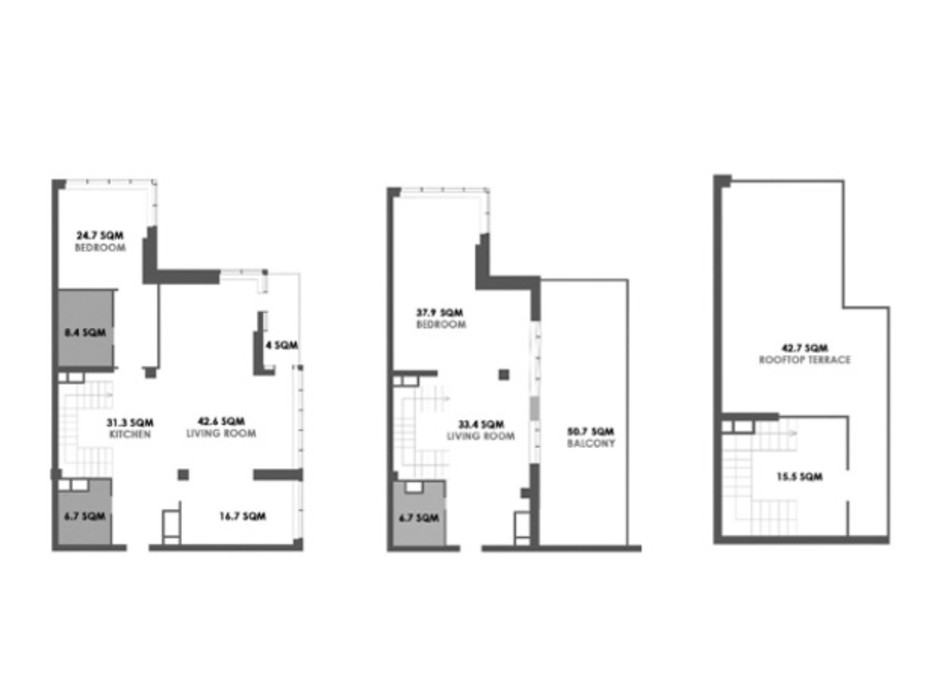 ЖК Skyline Residences планировка 36
