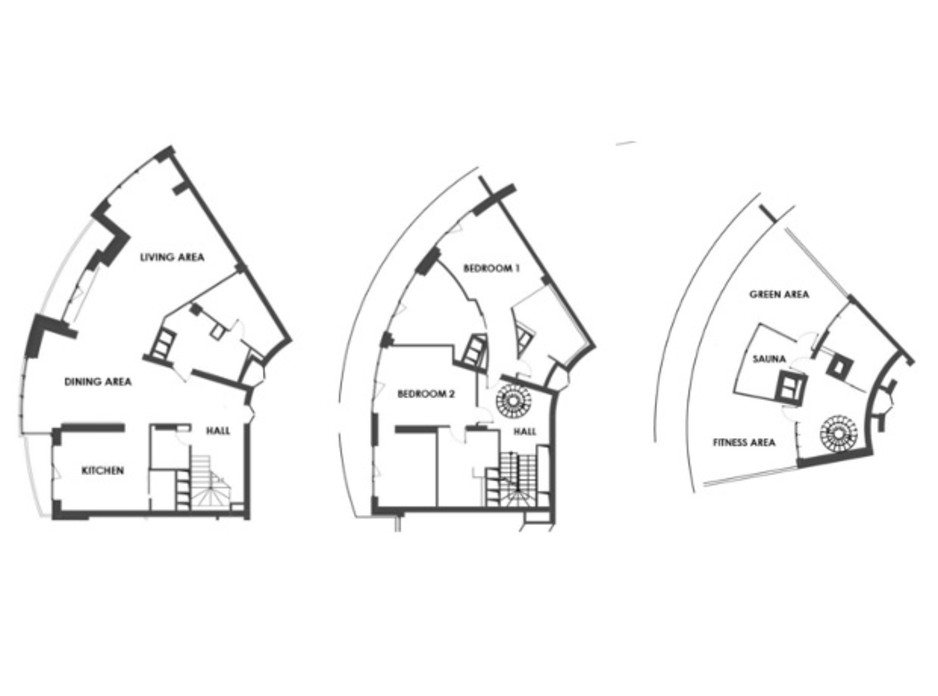 ЖК Skyline Residences планировка 37
