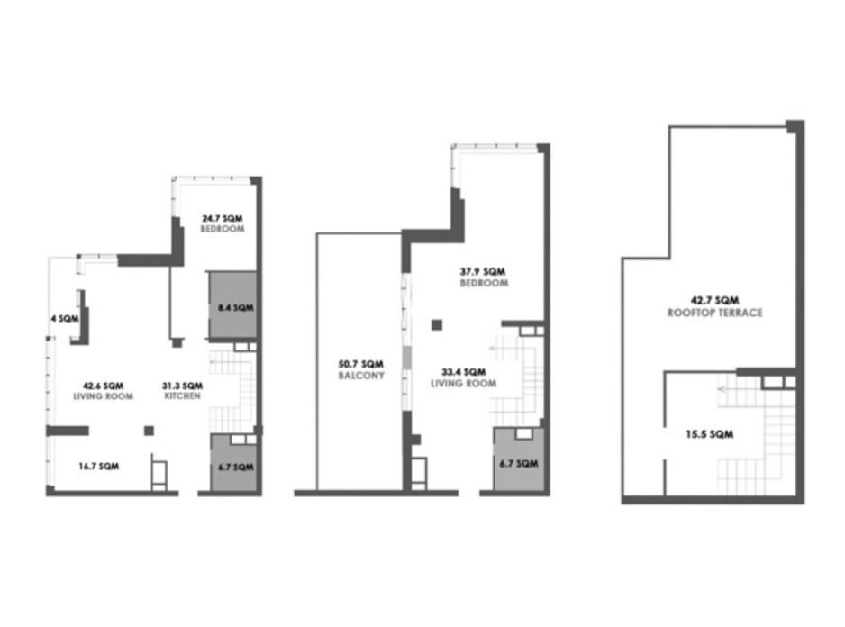 ЖК Skyline Residences планировка 51