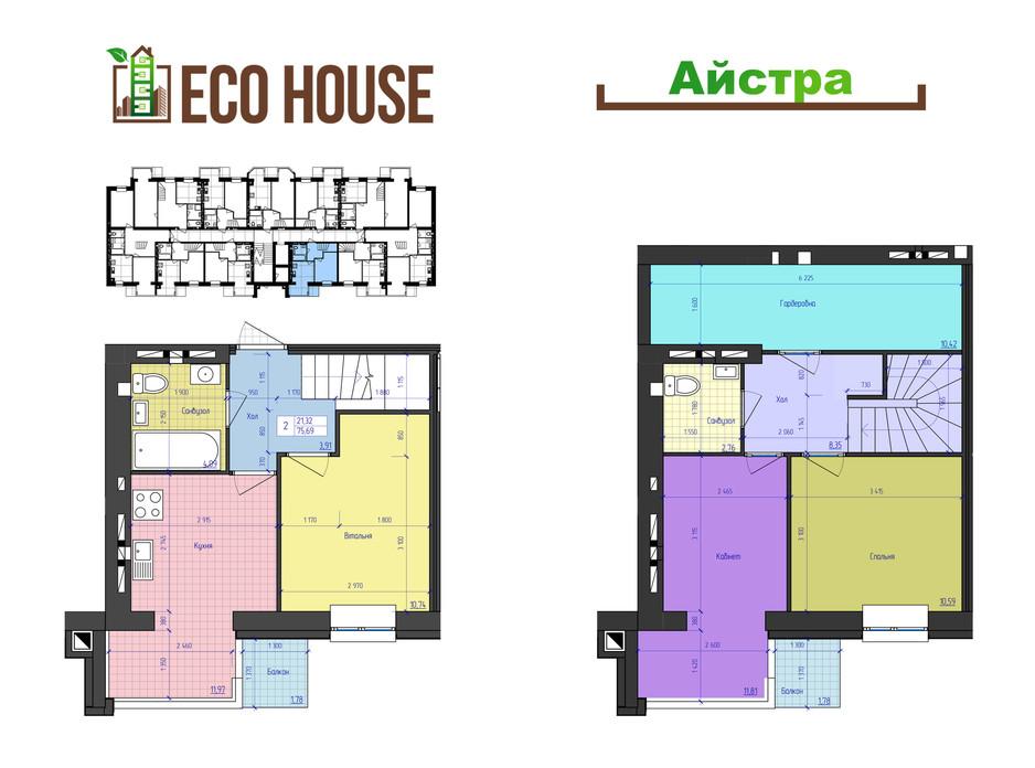ЖК Eco House планування 29