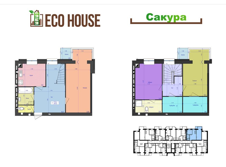 ЖК Eco House планування 34