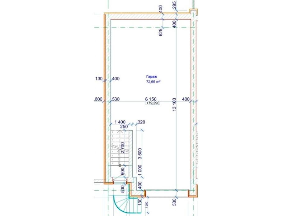 Планировка многоуровневой квартиры в Таунхаус FlatHouse на Победе 224 м², фото 68489