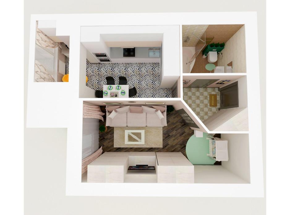 ЖК Eco House планування 12