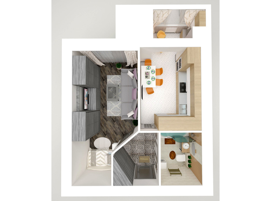 ЖК Eco House планування 16