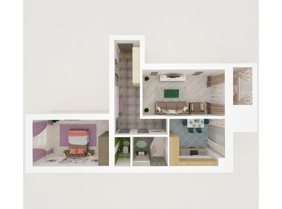 ЖК Eco House планування 22
